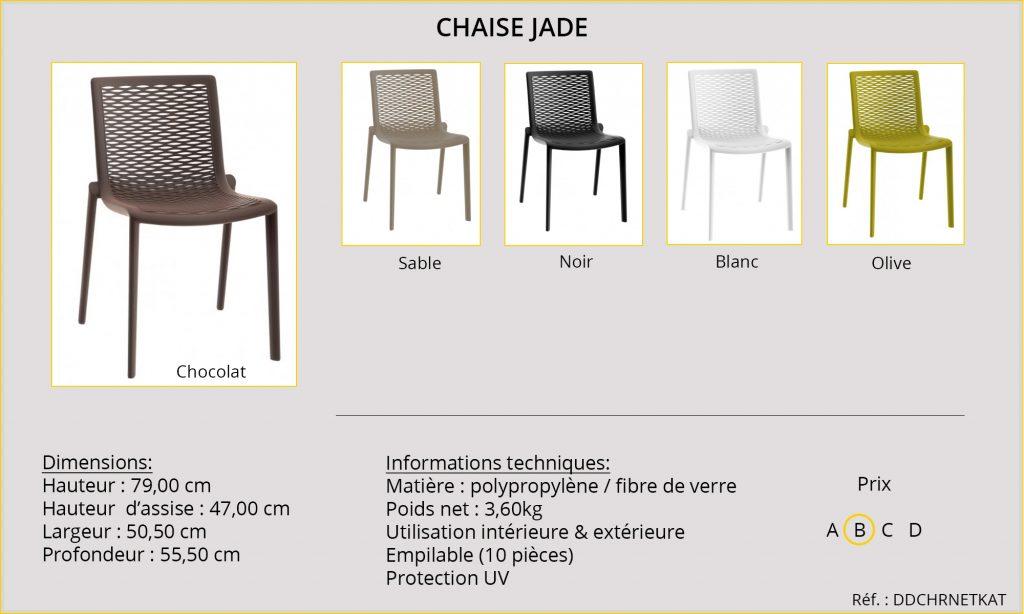 Rideaux Hôtels Chaise Jade DDCHRNETKAT