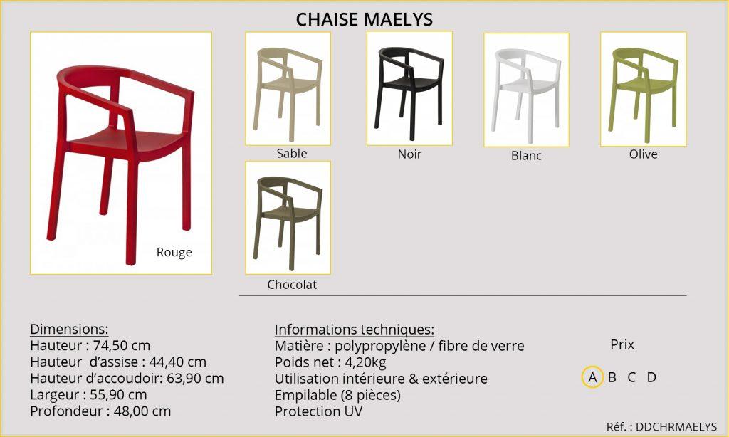 Rideaux Hôtels Restaurants Maelys DDCHRMAELYS