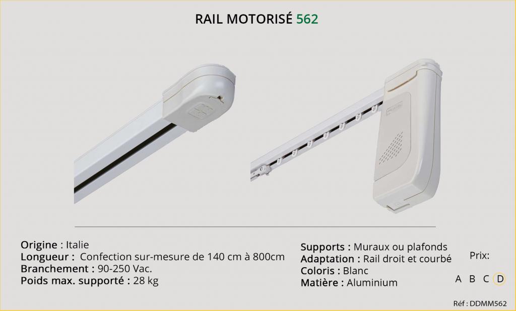 Rail motorisé Mottura 562