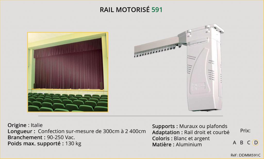 Rail motorisé Mottura - 591