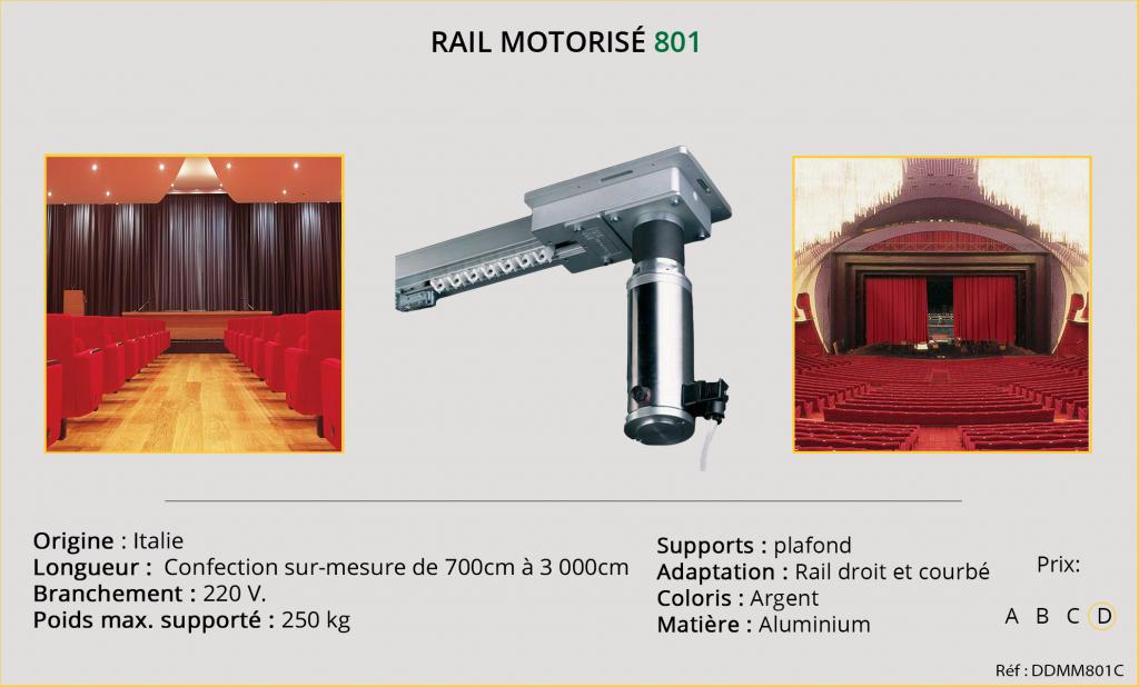 Rail motorisé Mottura - 801