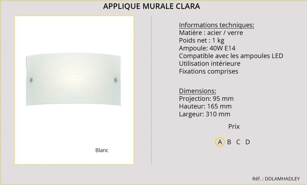 Appliques Murales Rideaux-Hotels Clara DDLAMHADLEY