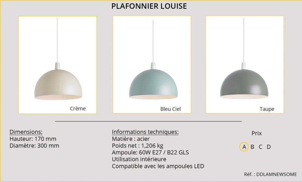 Rideaux-Hotels plafonnier Louise DDLAMNEWSOME