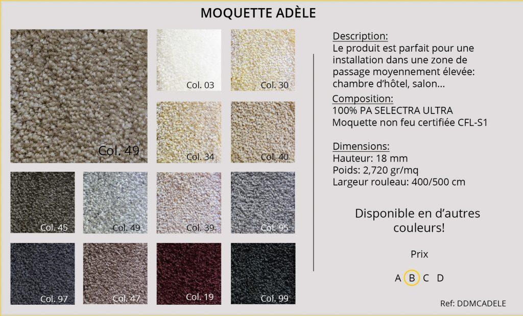Rideaux-Hotels moquette DDMCADELE