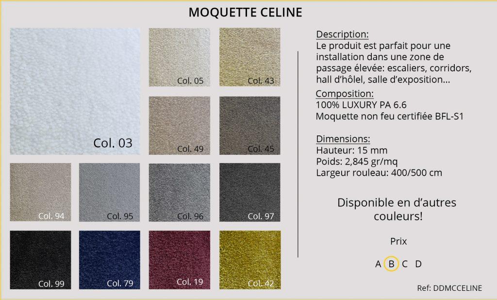 Rideaux-Hotels moquette DDMCCELINE