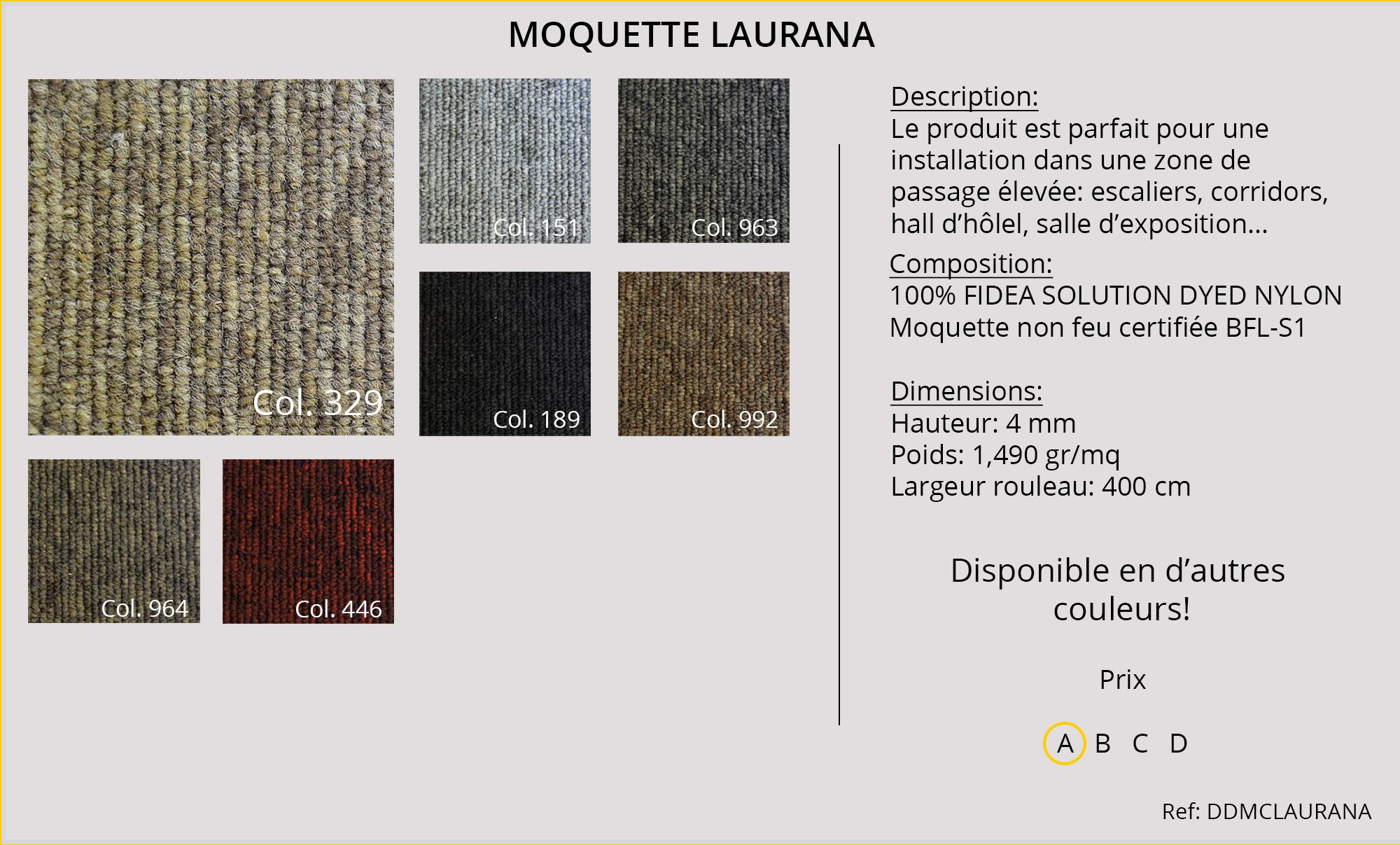 Catalogue moquettes rev tements bureaux h tels pro for Moquette de passage