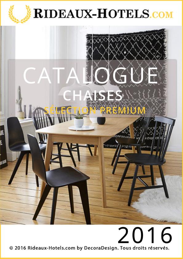 Catalogues Rideaux Hotels Professionnels : Chaises Premium