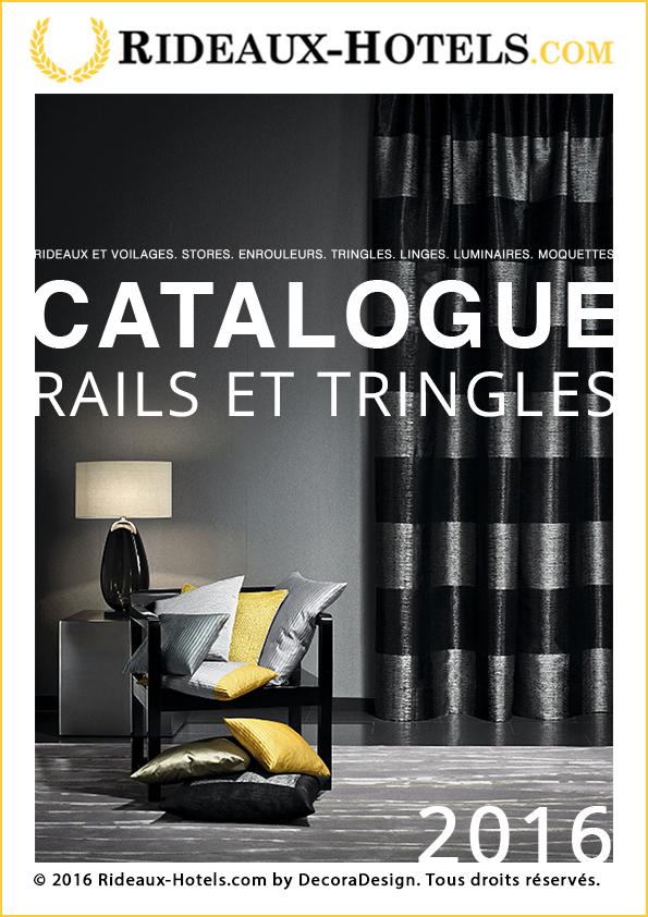 Catalogue Rideaux-Hotels: rails, tringles pour rideaux, voilages et velours