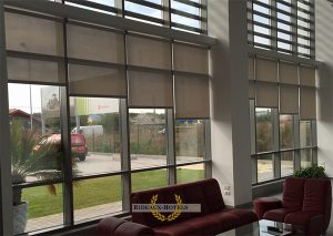 enrouleurs automatiques baie facade vitree