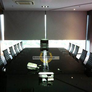 enrouleur pour salle vidéo vision conférence