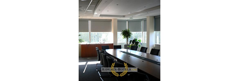 enrouleur bureau salle de réunion visio conférence