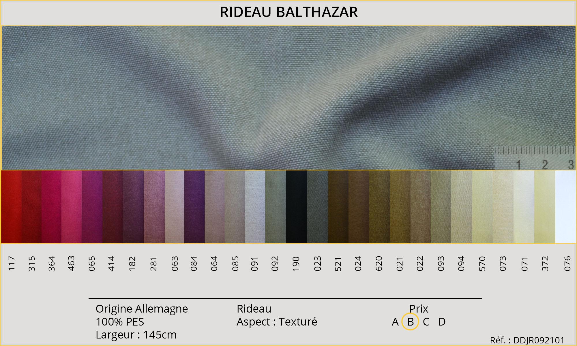 Rideaux-Hôtels Balthazar