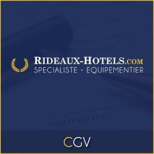 Equipe Rideaux Hotels - Conditions Générales de Vente