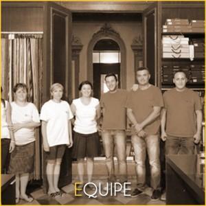Equipe Rideaux Hotels à votre service