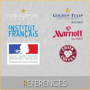 Equipe Rideaux Hotels - Prestigieuses références en hôtellerie, restauration, gouvernements, collectivités