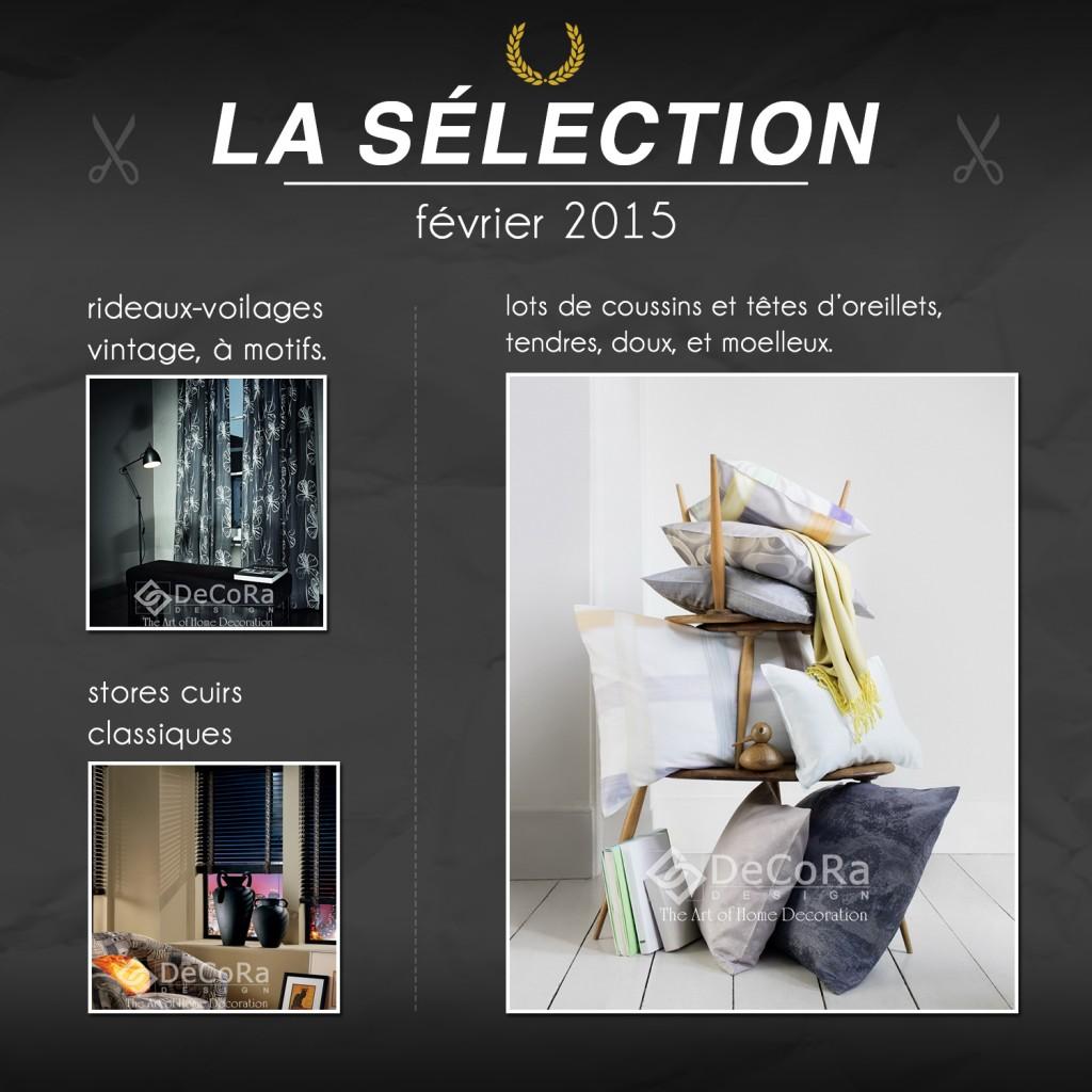 Sélection Rideaux-Hotels février 2015