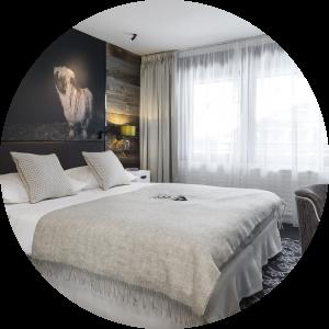 Gamme de produits Rideaux Hotels pour l'hôtellerie et les professionnels