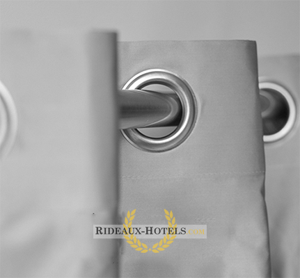rideau chambre hotel oeillet anti feu m1. Black Bedroom Furniture Sets. Home Design Ideas