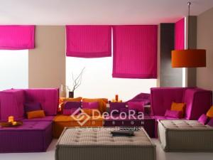 LxxJ032- Rideaux Hotels Professionnels Stores horizontaux verticaux plissés