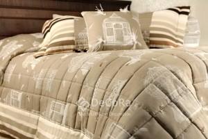 LTV002- Rideaux Hotels Professionnels linge d'hôtel lit draps non feu M1