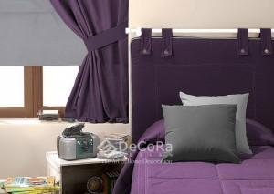 LxxD012- Rideaux Hotels Professionnels linge d'hôtel lit draps non feu M1