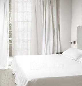 LxxD018- Rideaux Hotels Professionnels linge d'hôtel lit draps non feu M1