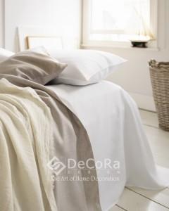 P020ZRD- Rideaux Hotels Professionnels linge d'hôtel lit draps non feu M1