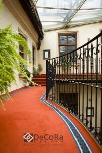 moquette hotel-bureau-balcon-professionnelle-orange