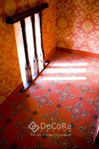 rideau-hotel-moquette-m1-anti-feu couloir-corridor
