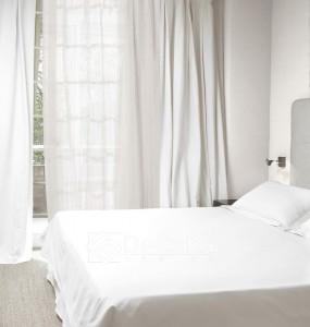 chambre voiles et rideaux anti-feu ignifugé  blanc pur