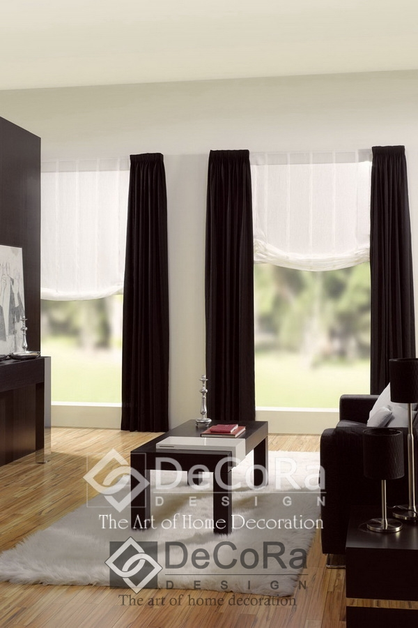 voilage rideau rideau polyester voile blanc x cloud with. Black Bedroom Furniture Sets. Home Design Ideas