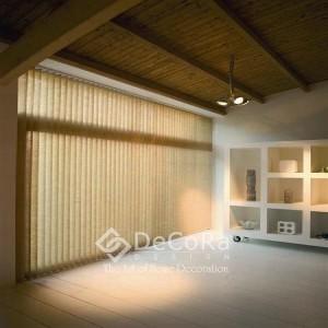 SxxJ005-protection-espace-travail-professionnel-rideaux-hotel-bureau-persienne-verticale-marron