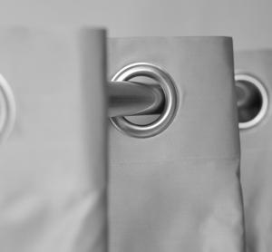 TRH012- Rideaux Hotels Professionnels rails tringles rideaux courbée overlap