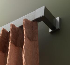 TRH013- Rideaux Hotels Professionnels rails tringles rideaux courbée overlap