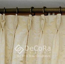 plis flamands pour rideau sur mesure